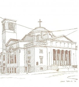 Historical Church Sketches Holy Trinity Greek Orthodox Church
