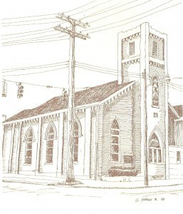 Historical Church Sketches Second Chance Ministries