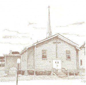 Historical Church Sketches Simpson United Methodist