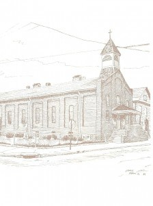 Historical Church Sketches St. Anthonys