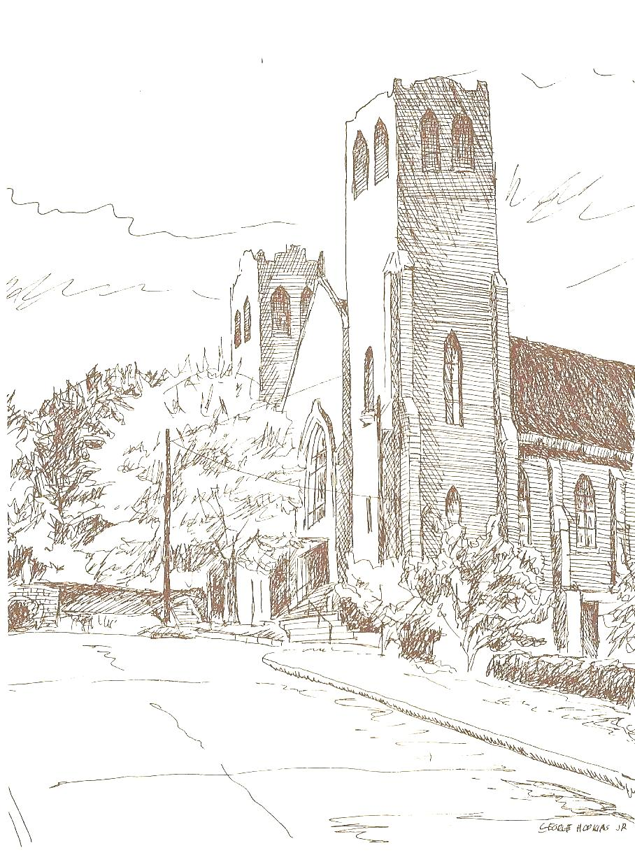 historical steubenville churches steubenville visitor center historical church sketches st stanislaus catholic church