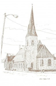 Historical Church Sketches St.Pauls Episcopal