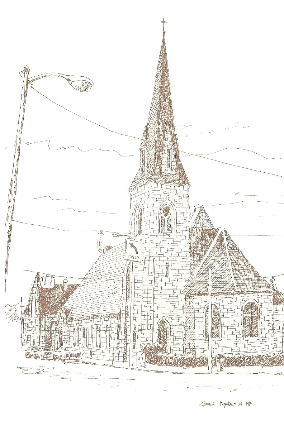 Historical church sketches st pauls episcopal