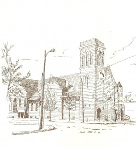 Historical Church Sketches Sycamore Tree