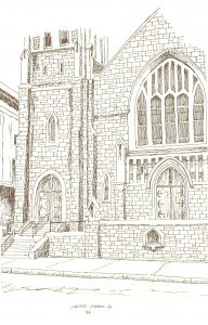 Historical Church Sketches Westminster Presbyterian Church
