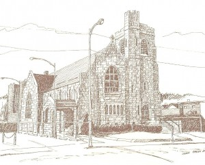 Historical Church Sketches Zion United Church of Christ