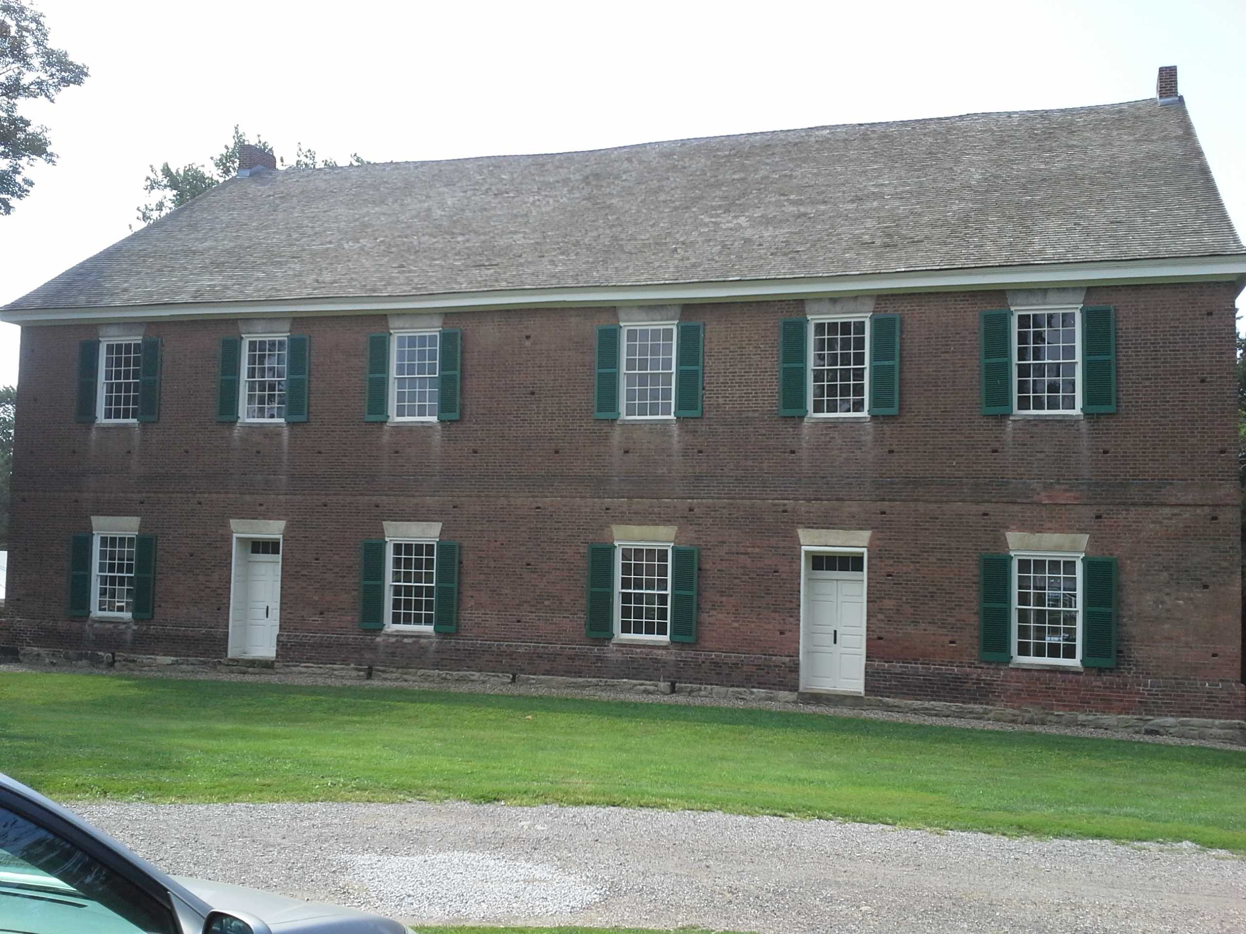 Village of Mt. Pleasant & Quaker Meeting House ... Quaker Meeting House